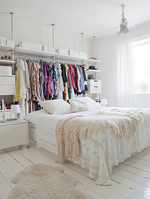 no-closet-organizing-ideas-Ikea