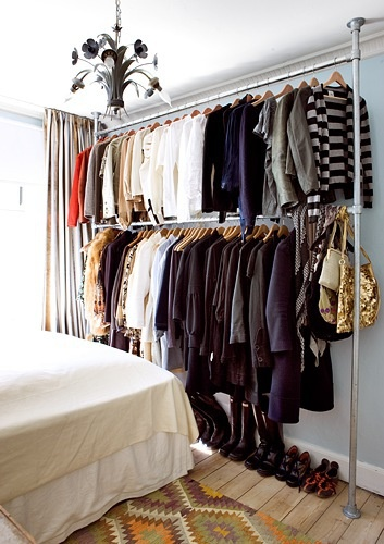 no-closet-organizing-ideas